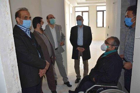 ۸۰ مورد از نقایص مناسبسازی هتل تراز معلولین در مشهد مرتفع شده است