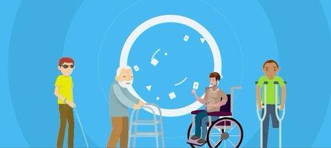 ارائه خدمات ویژه رایگان به افراد دارای معلولیت و کم توان جسمی