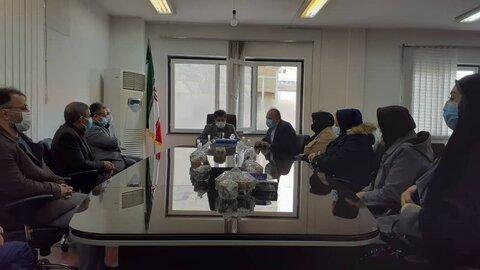 دیدار صمیمی مدیر کل و کارکنان بهزیستی با معاون سیاسی،امنیتی استاندار کردستان