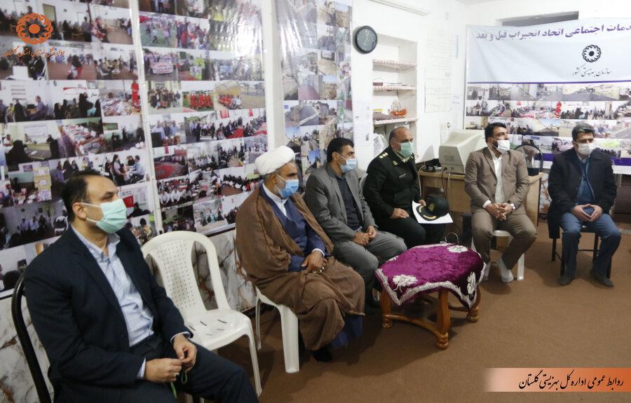 مدیرکل بهزیستی گلستان به همراه مسئولان قضایی و انتظامی مرکز استان  در مناطق آسیب پذیر گرگان حاضر شد