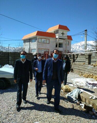 گزارش تصویری| حضور نماینده رئیس سازمان بهزیستی کشور در شهرستان زلزله زده دنا