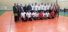 گزارش تصویری   برتری تیم والیبال بهزیستی فارس