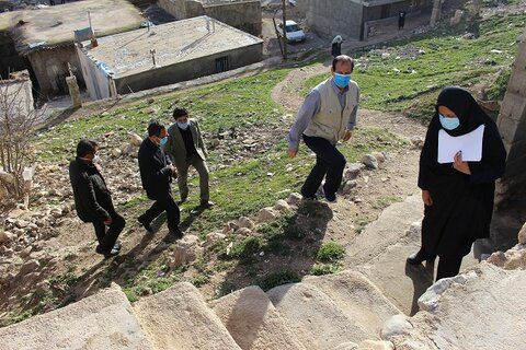 بازدید از مناطق زلزله زده