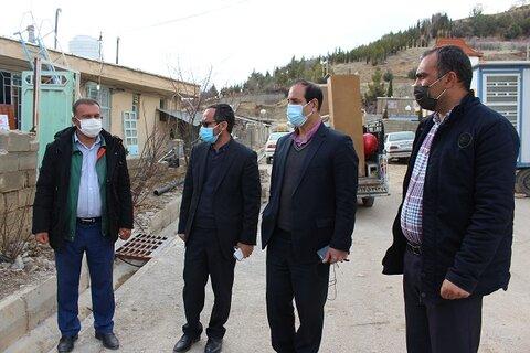 گزارش تصویری| بازدید از منازل مسکونی مددجویان سازمان بهزیستی در شهر سی سخت در روز سوم زلزله
