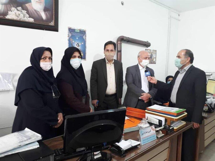 صالح آباد   عملکرد خوب بهزیستی صالح آباد در اجرای طرح های اشتغالزایی