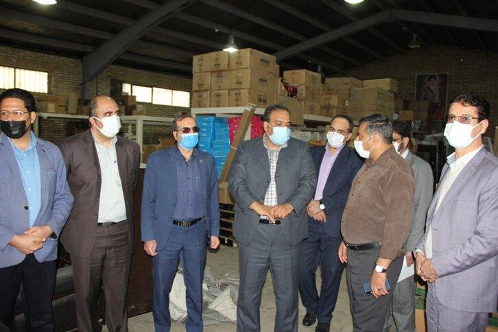 ارسال اولین محموله غیر نقدی بهزیستی استان به مناطق زلزله زده پادنای سمیرم