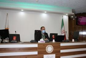 نشست ویدئو کنفرانسی مدیرکل بهزیستی استان با روسای شهرستان ها