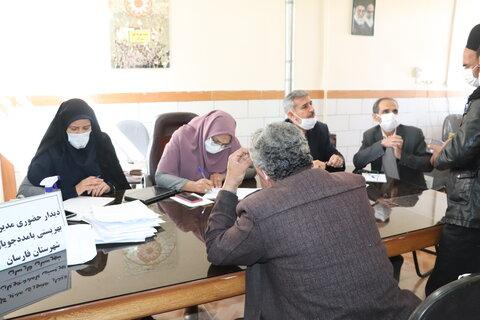 گزارش تصویری| دیدار مردمی مدیر کل بهزیستی استان با جامعه هدف شهرستان فارسان