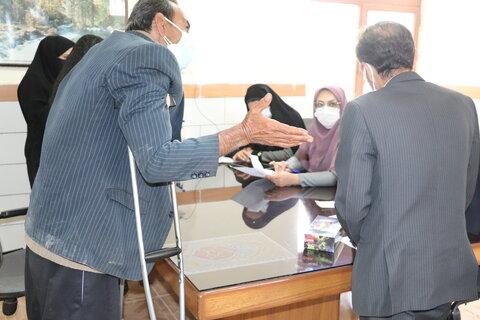 گزارش تصویری  دیدار مردمی مدیر کل بهزیستی استان با جامعه هدف شهرستان فارسان