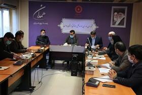 جلسه شورای اداری با تاکید بر دقت نظر در ارسال اسناد مالی