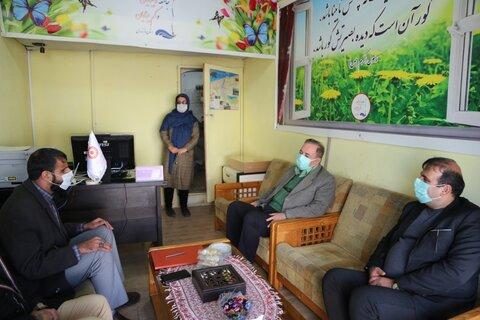 بازدید مدیر کل بهزیستی مازندران از دفتر مرکزی جامعه نابینایان و کم بینایان استان