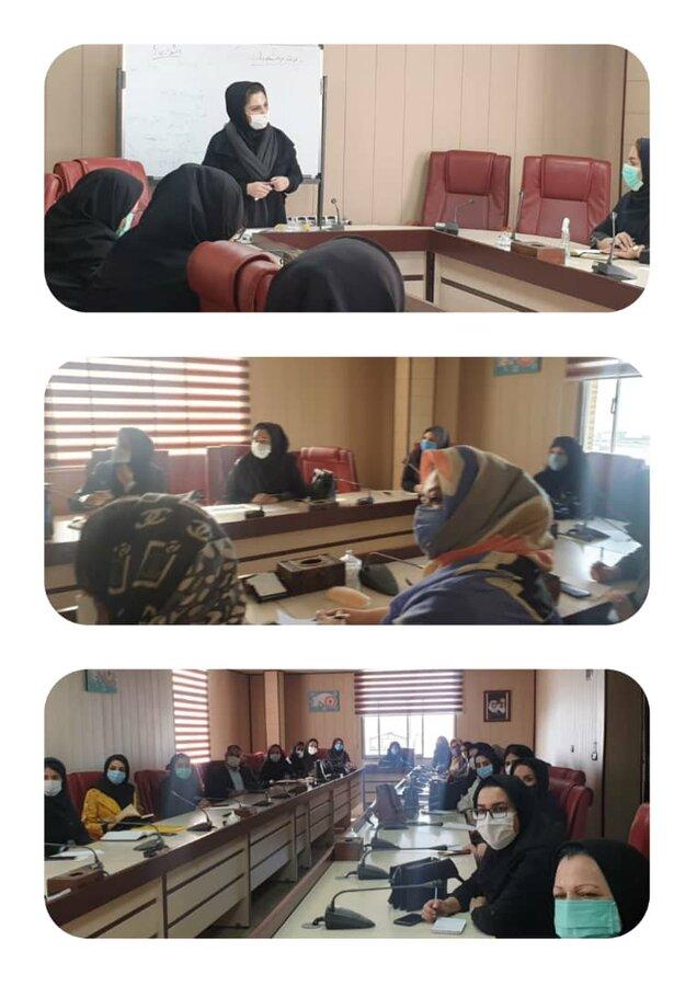 برگزاری جلسه اجرای طرح های دفتر پیشگیری از آسیب های اجتماعی بهزیستی استان البرز