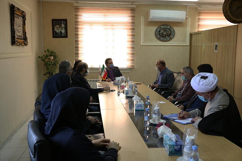 نشست مدیرکل بهزیستی گیلان با سفیران انتقال خون استان