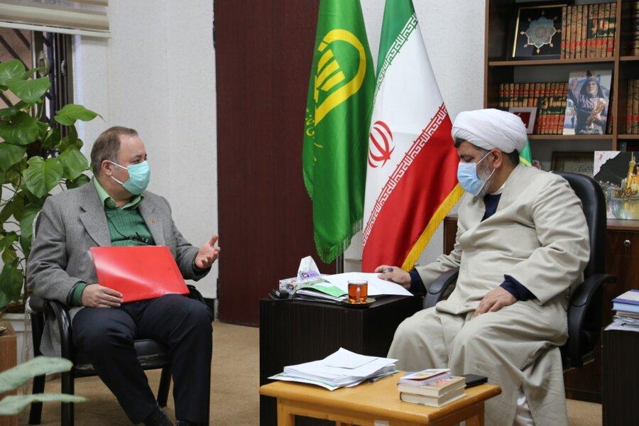 دیدار مدیرکل بهزیستی مازندران با امام جمعه شهرستان بابلسر