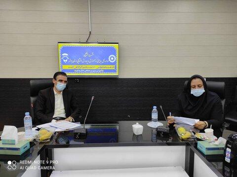 نشست هم اندیشی معاون توسعه پیشگیری استان با مدیر اداره آموزش و پرورش استثنایی بوشهر برگزار شد