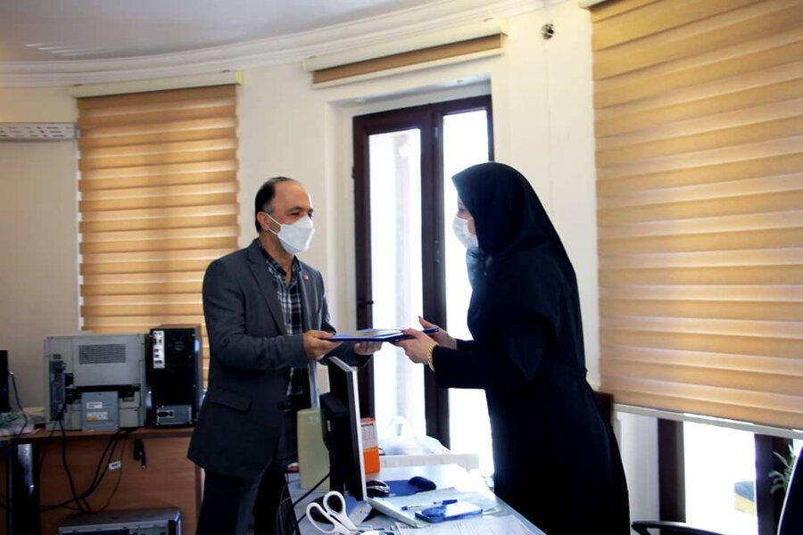 شهر تهران | تقدیر از مهندسین شاغل در بهزیستی