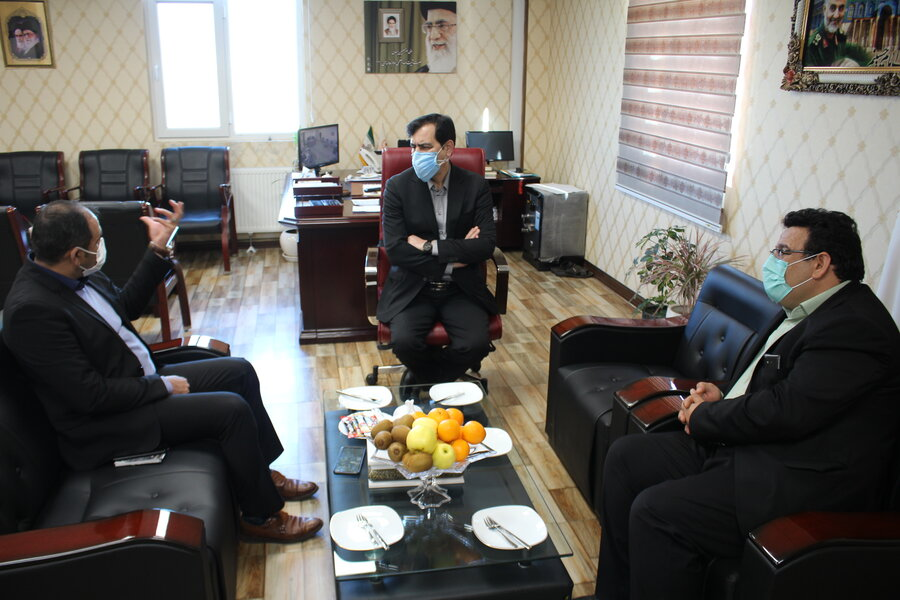 مدیرکل بهزیستی البرز میزبان شهردار ماهدشت بود