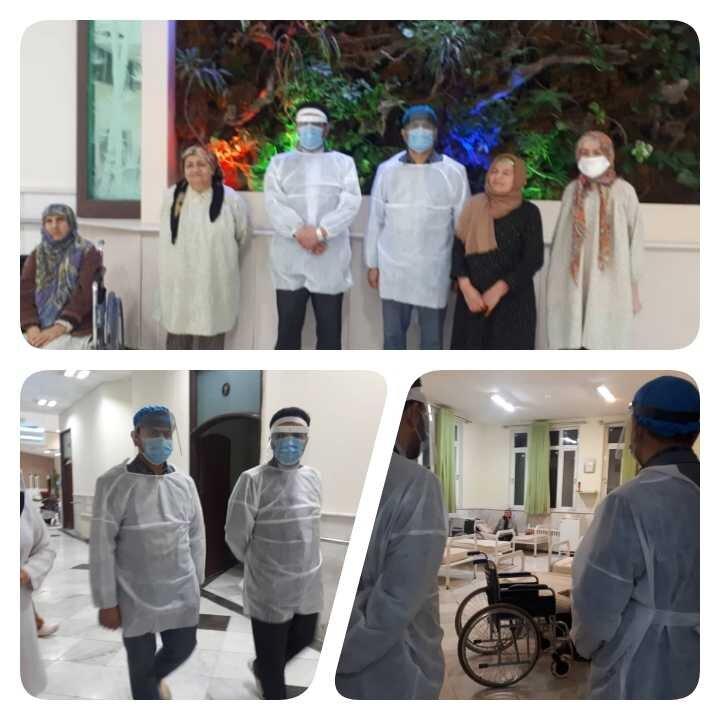 نیشابور | بازدید سرزده دادستان نیشابور از مرکز سالمندان فاطمه زهرا(س)