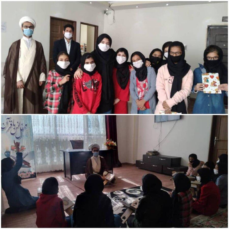 نظرآباد | برگزاری محفل انس با قرآن کریم