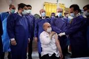 آغاز واکسیناسیون سالمندان مستقر در کهریزک با حضور وزیر بهداشت و رئیس سازمان بهزیستی