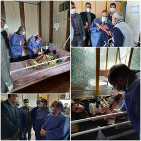 نظرآباد   بازدید از مرکز نگهداری سالمندان آسیا
