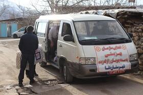 گزارش تصویری | توزیع بسته های معیشتی بین مددجویان تحت پوشش سازمان بهزیستی آسیب دیده از زلزله درشهرستان دنا