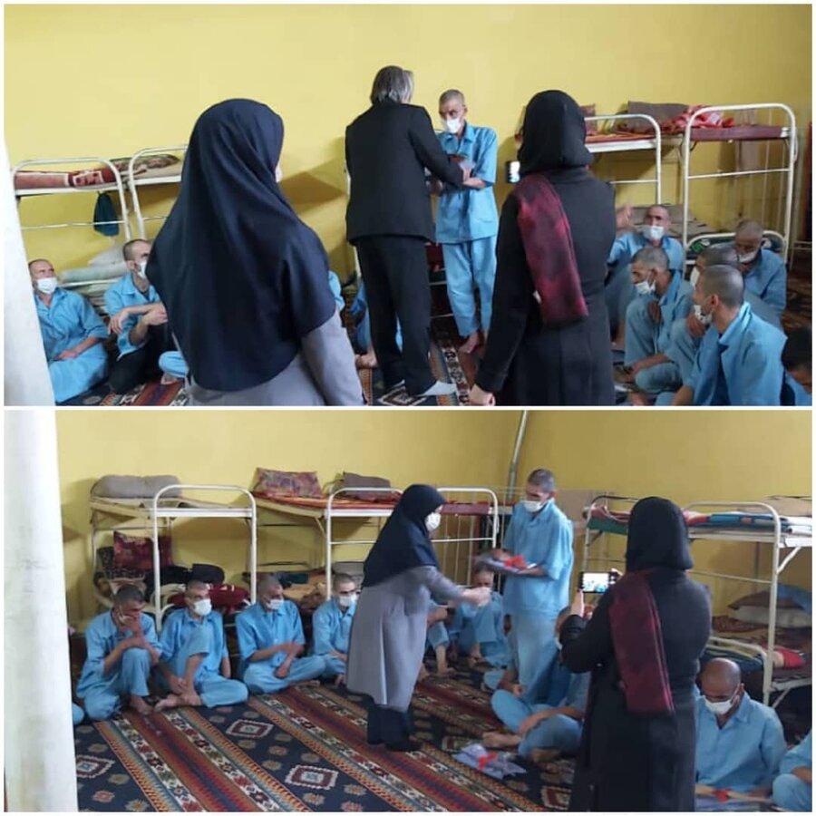 نظرآباد   جشن مولودی خوانی در وصف حضرت علی (ع) در مرکز اقامتی پیام بهبودی ایرانیان