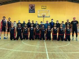 گزارش تصویری | حضور سرپرست بهزیستی خراسان رضوی در محل تمرینات اردوی تیم بسکتبال ناشنوایان