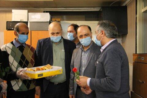 تقدیر از آقایان شاغل در بهزیستی شهر تهران