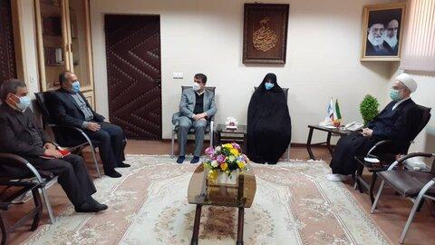 دیدار نماینده ولی فقیه در کردستان با معاون رئیس سازمان بهزیستی کشور