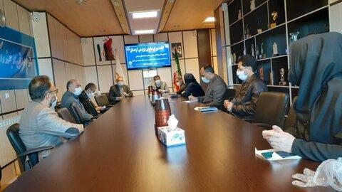 معاون مشارکت های  مردمی بهزیستی در کردستان حضور یافت