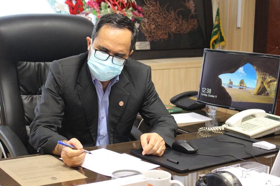پیام قدردانی مدیرکل بهزیستی استان از باشگاه فرهنگی،ورزشی مس رفسنجان
