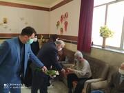 دیدار صمیمانه استاندار کرمانشاه با سالمندان مرکز شمیم مهر