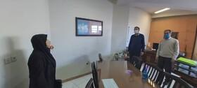 گزارش تصویری| دیدار و گفتگوی مدیرکل بهزیستی با همکاران