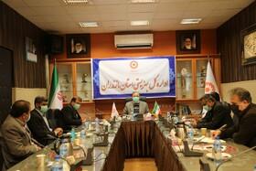 برگزاری چهل و پنجمین جلسه پیشگیری و مقابله با ویروس کرونا در بهزیستی مازندران