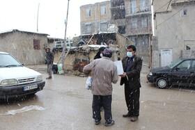 گزارش تصویری  توزیع اقلام ضروری بین مددجویان زلزله زده شهرستان دنا