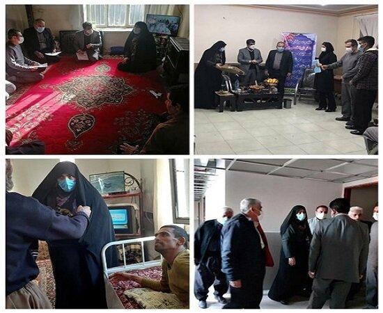 بازدید معاون مشارکتهای مردمی سازمان بهزیستی کل کشور درشهرستان مریـوان