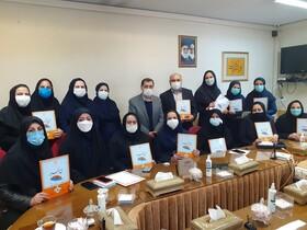 تجلیل از مددکاران بهزیستی استان قزوین