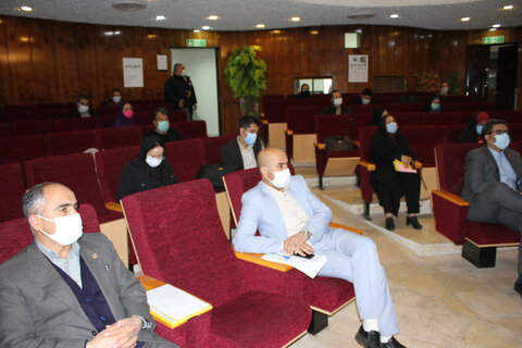 نشست خبری مدیرکل بهزیستی استان تهران با اصحاب رسانه