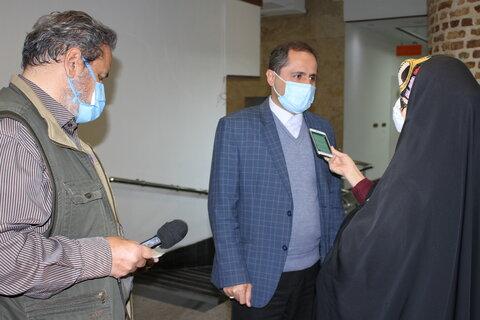 نشست خبری مدیر کل بهزیستی استان تهران با اصحاب رسانه