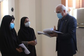 گناوه|گزارش تصویری بازدید مدیر کل بهزیستی استان از مراکز مثبت زندگی