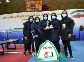 درخشش بانوان معلول لرستانی در  مسابقات قهرمانی پاراوزنه کشور