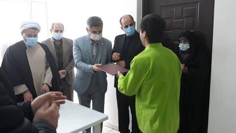 تجلیل از فعالان حوزه نماز در مرکز ماده ۱۶