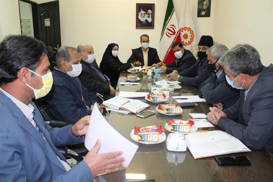 سرخس | اولین نشست هم اندیشی بهزیستی سرخس با هیات مدیره مرکز شبه خانواده امام علی(ع)