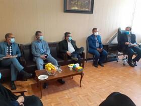 جلسه نماینده ویژه رئیس سازمان بهزیستی کشور با مسئولین بهزیستی استان در شهرستان دنا