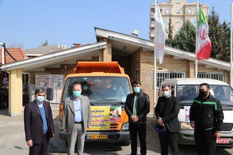 اهدای کمک های خیرخواهانه اداره کل بهزیستی مازندران به زلزله زدگان شهرستان سی سخت