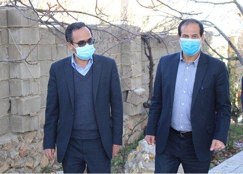 گزارش تصویری|بازدید میدانی نماینده ویژه اعزامی رئیس سازمان بهزیستی کشور از مناطق زلزله زده