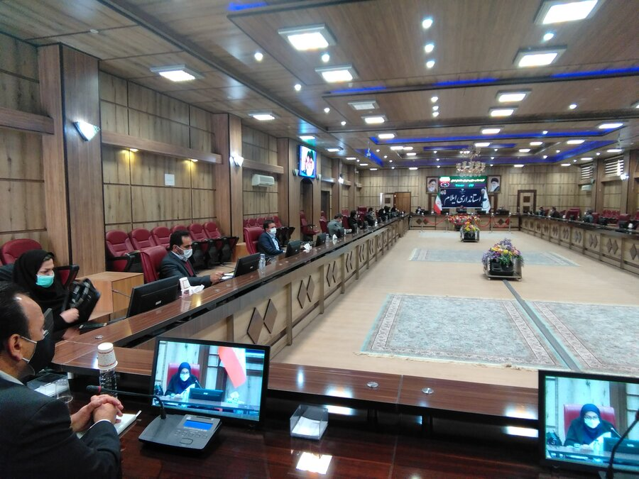 گزارش تصویری| کمیته مناسب سازی و شورای سالمندان استان ایلام