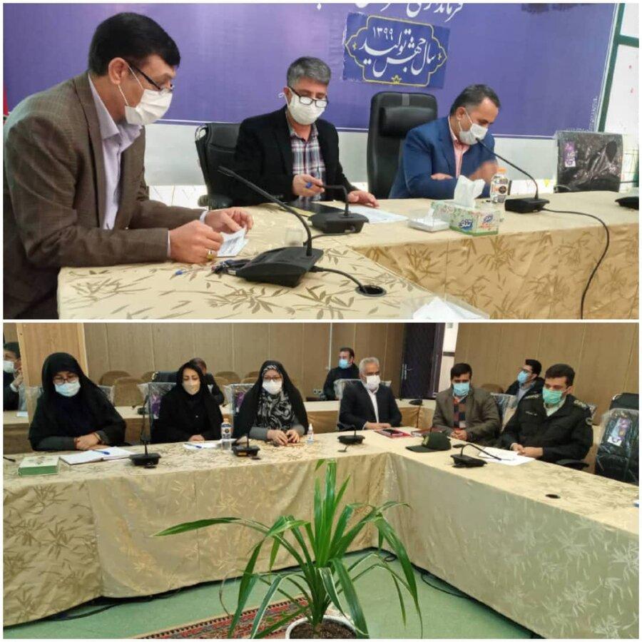 نظرآباد   برگزاری جلسه کارگروه فرهنگی اجتماعی زنان و سلامت خانواده