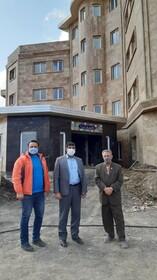 محمود آباد ׀ بازدید رئیس بهزیستی شهرستان محمودآباد از پروژه درحال ساخت ویژه سالمندان